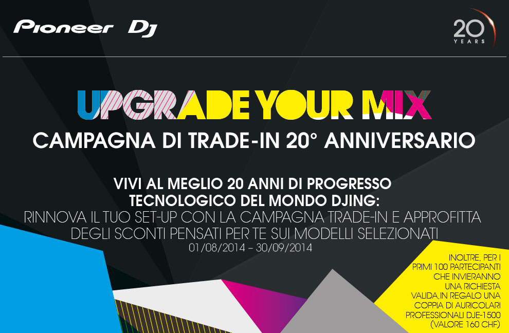 Campagna Pioneer Upgrade Your Mix