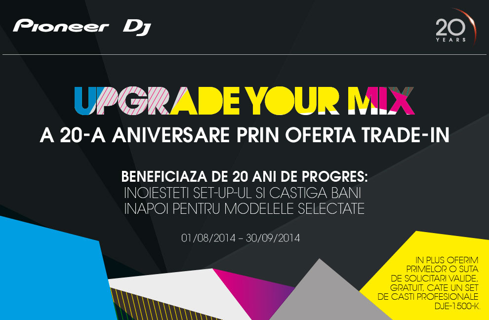 Promotia Pioneer Upgrade Your Mix